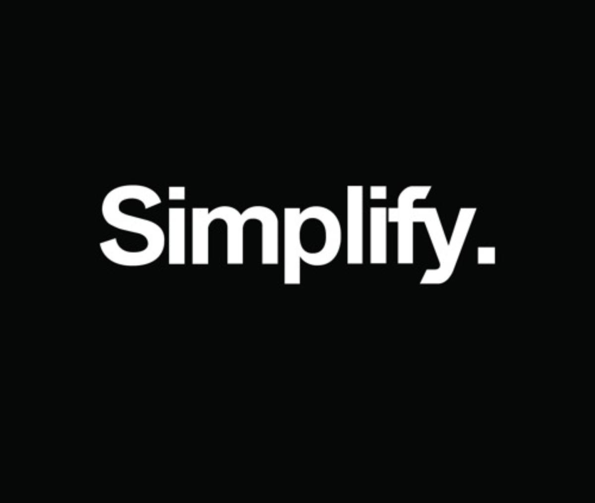 In 2018, wesimplify